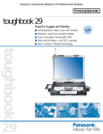 Panasonic Toughbook 29 User's Manual