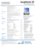Panasonic Toughbook 28 User's Manual