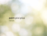 Palm Pixi Plus (AT&T) User Guide