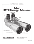 Orion BT70 User's Manual