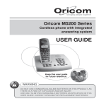 Oricom M5200 Series User's Manual