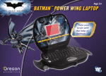 Oregon Scientific Batman Power Wing Laptop User's Manual