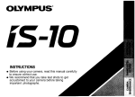 Olympus IS-10 Operating Instructions