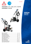 Nilfisk-ALTO 5-53 PE User's Manual
