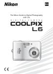 Nikon COOLPIX L6 User's Manual
