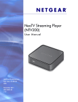 Netgear NTV200 User Guide