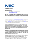 NEC E243WMi-BK User's Information Guide