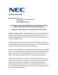 NEC E224Wi-BK User's Information Guide
