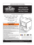 Napoleon Fireplaces EPA 1450 User's Manual