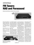 NAD Electronics C420 User's Manual