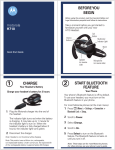 Motorola H710 User's Manual