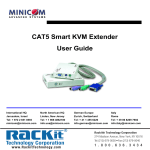 Minicom Advanced Systems CAT5 User's Manual