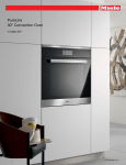 Miele H 6880 BP Specification Sheet