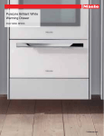 Miele ESW 6880 PureLine Brilliant White Specification Sheet