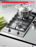 Miele CS 1012-1 G Specification Sheet