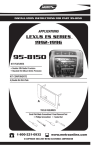 Metra Electronics LEXUS ES 95-8150 User's Manual