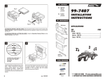 Metra Electronics 99-7407 User's Manual
