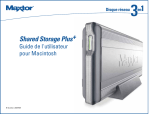 Maxtor SHARED STORAGE PLUS 20297501 User's Manual