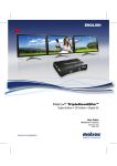 Matrox Electronic Systems Triplehead2go User's Manual