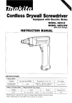 Makita 6891DW User's Manual