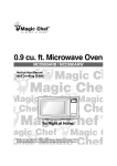 Magic Chef MCD990ARW User's Manual