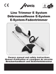 Little Wonder Line Trimmer User's Manual