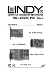 Lindy RS-422/485 User's Manual