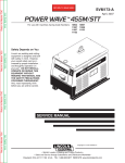 Lincoln Electric SVM173-A User's Manual