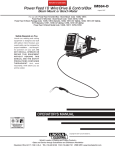 Lincoln Electric IM584-D User's Manual