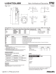 Lightolier FP02 User's Manual