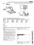 Lightolier Lytecaster 2001F User's Manual