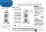 LifeWise True HEPA Air Purifier 63-1540 User's Manual