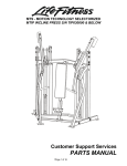 Life Fitness MTIP User's Manual
