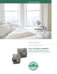 Lenoxx Whole-Home Humidifiers User's Manual