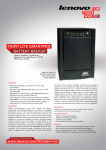 Lenovo TS430 User's Manual