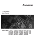 Lenovo ThinkCentre 6176 User's Manual
