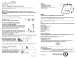 Lenmar Enterprises PPW66 User's Manual
