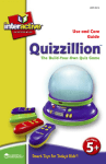Learning Resources Quizzillion LER 6914 User's Manual