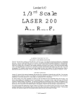 Lanier LASER 200 User's Manual