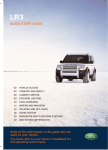 Land Rover LR3 User's Manual