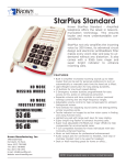 Krown Manufacturing StarPlus Standard User's Manual