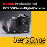 Kodak DCS500 User's Manual