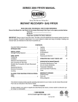 Keating Of Chicago 2000 User's Manual