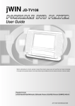 Jwin JD TV108 User's Manual