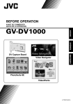 JVC GV-DV1000 User's Manual