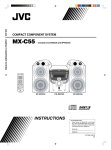 JVC MX-C55 User's Manual