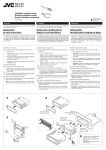 JVC KD-LX3 Installation Manual