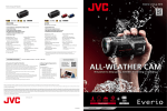 JVC GZ-R10B Product Literature