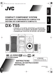 JVC DX-T55 User's Manual