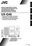 JVC CA-UXG46 User's Manual